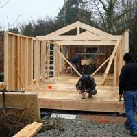 Garden offices buildingregulations