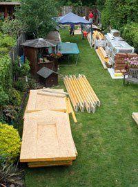 garden office construction