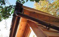 Garden Office plans must always include gutters