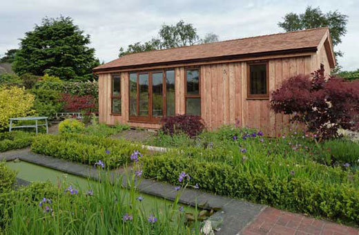 garden office buildings at home