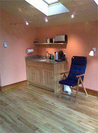 Kitchen areas for garden rooms
