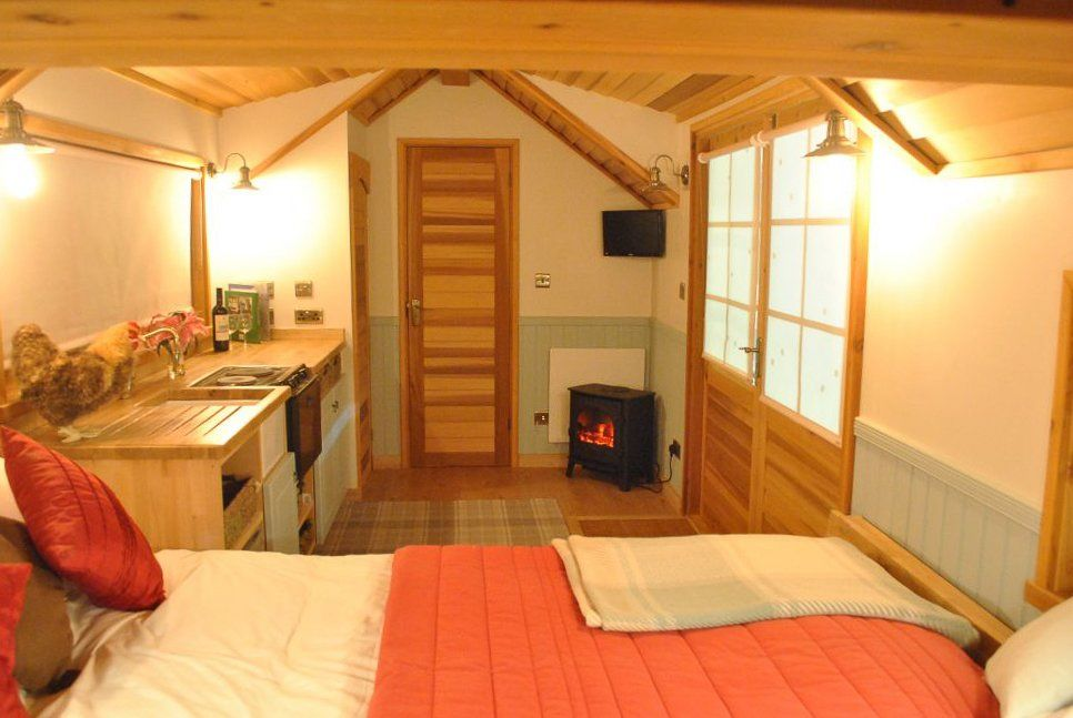 A Garden Annexe rental that earns and saves money