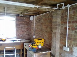 garden offices electrical supply