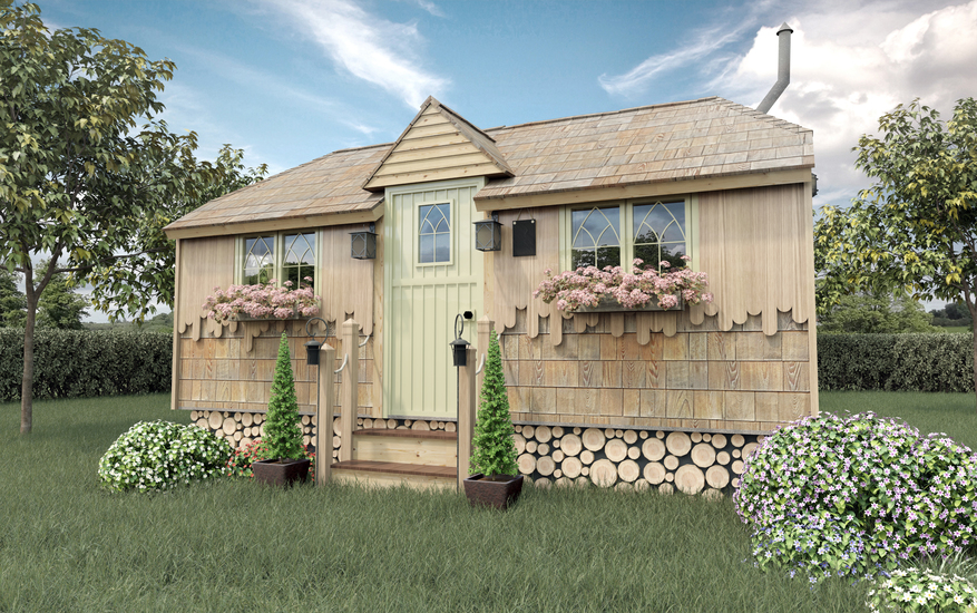 garden annexe for bed and breakfast